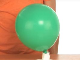 balloon hovercraft