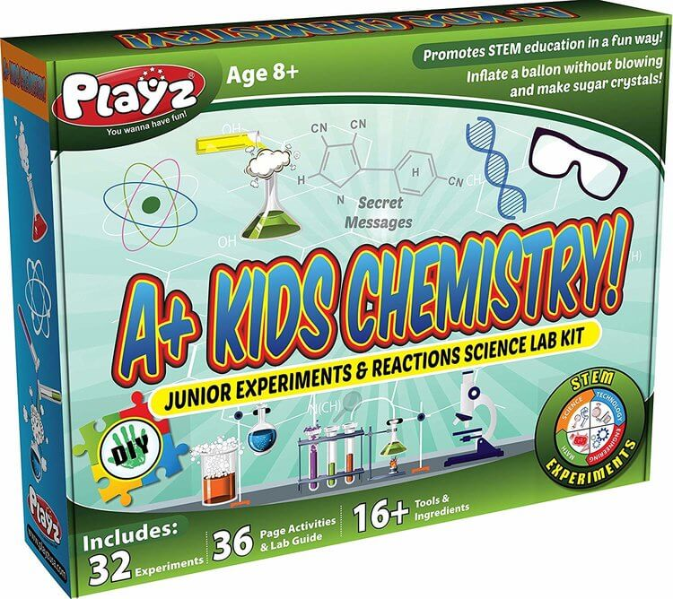 Playz STEM A Kids Science Kit