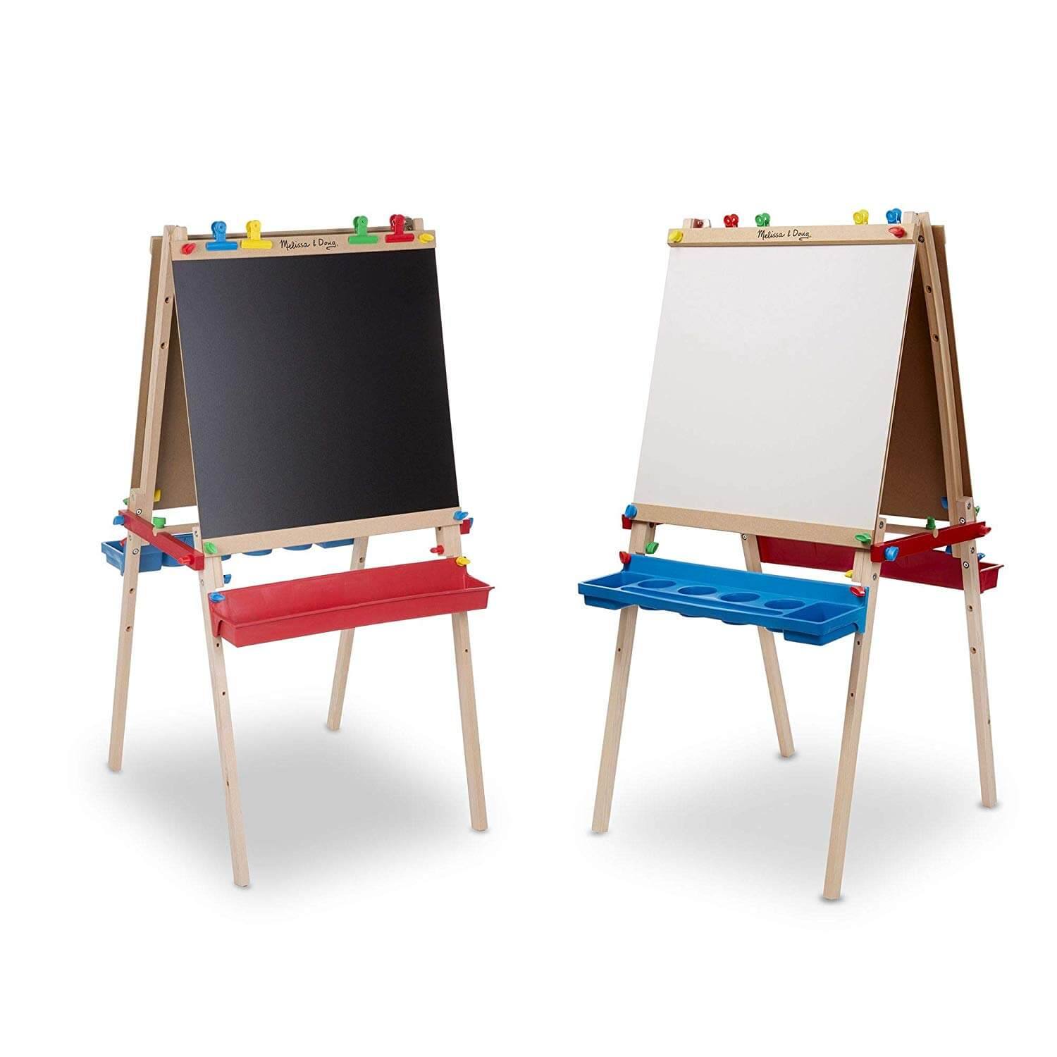 melissa and doug wooden easel