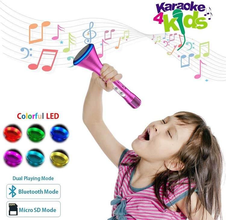 KOMVOX Karaoke Microphone