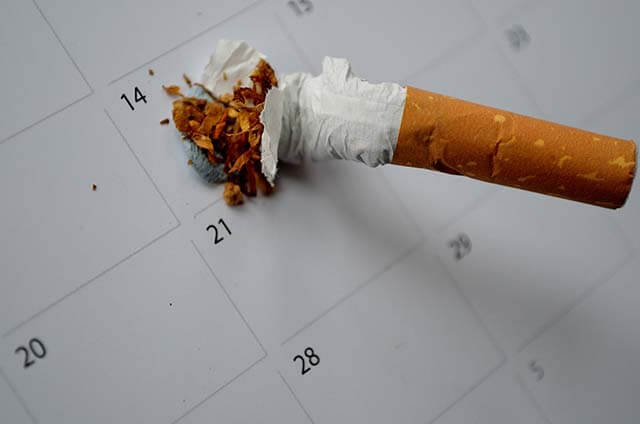 period duration what happens body after quitting smoking