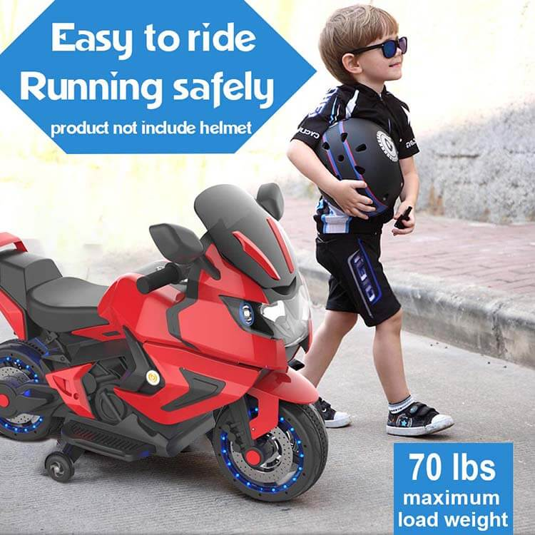 Hover Heart Kids Electric Power Motorcycle