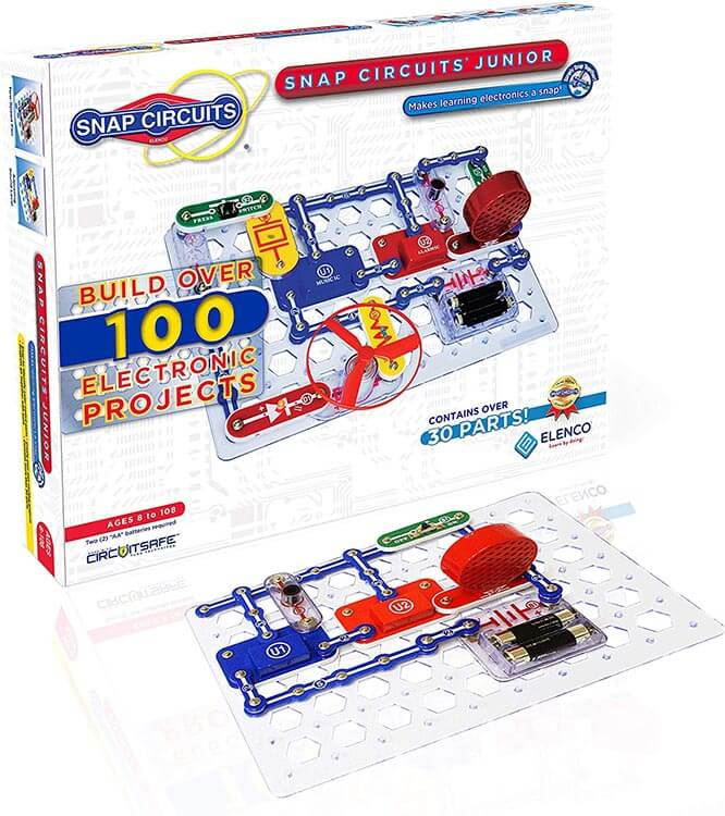 Snap Circuits Jr SC-100 Electronics Exploration Kit