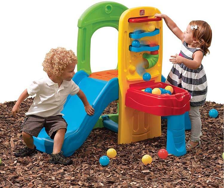 Step2 Play Ball Fun Climber With Slide
